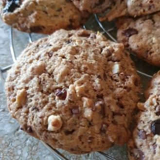 cookies aux pépites de chocolat et noisettes